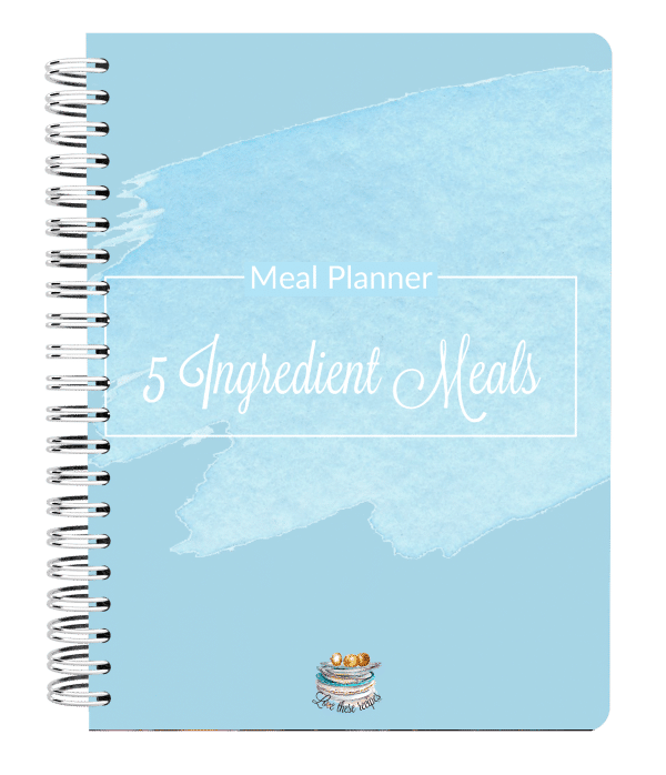 5 Ingredient Meals Meal Planner