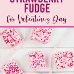 fudge for Valentine's Day