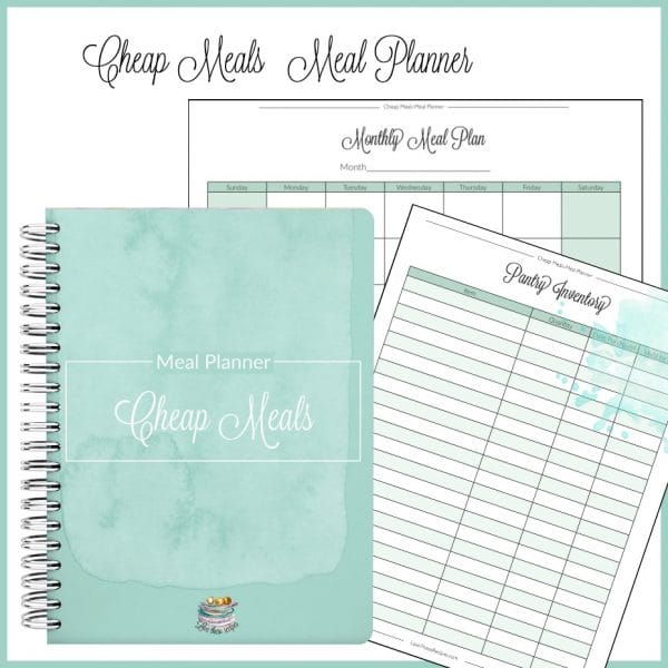 Cheap Meals Meal Planner