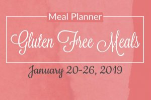Gluten Free 5 Day Meal Plan