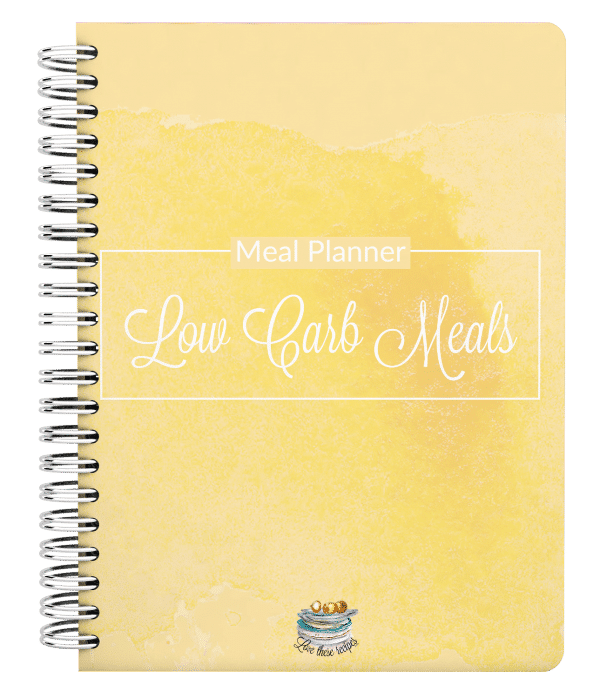 Low Carb Meals Meal Planner